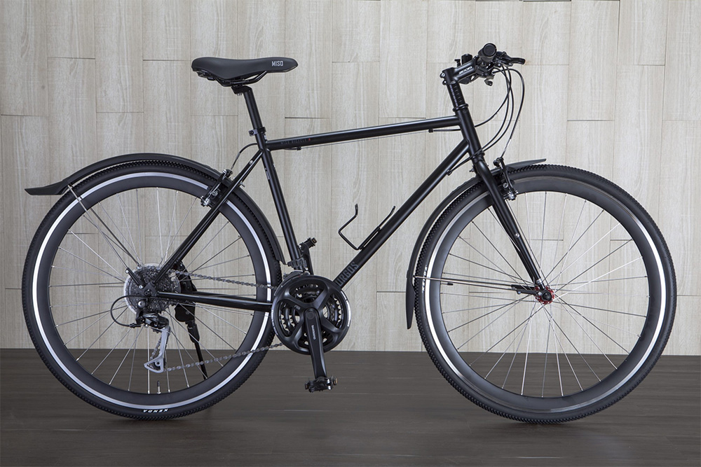 The Rear Gear on this Bicycle has Fewer Teeth than the Gear at the Foot Pedals, a Good Ratio for Flat Terrain Riding