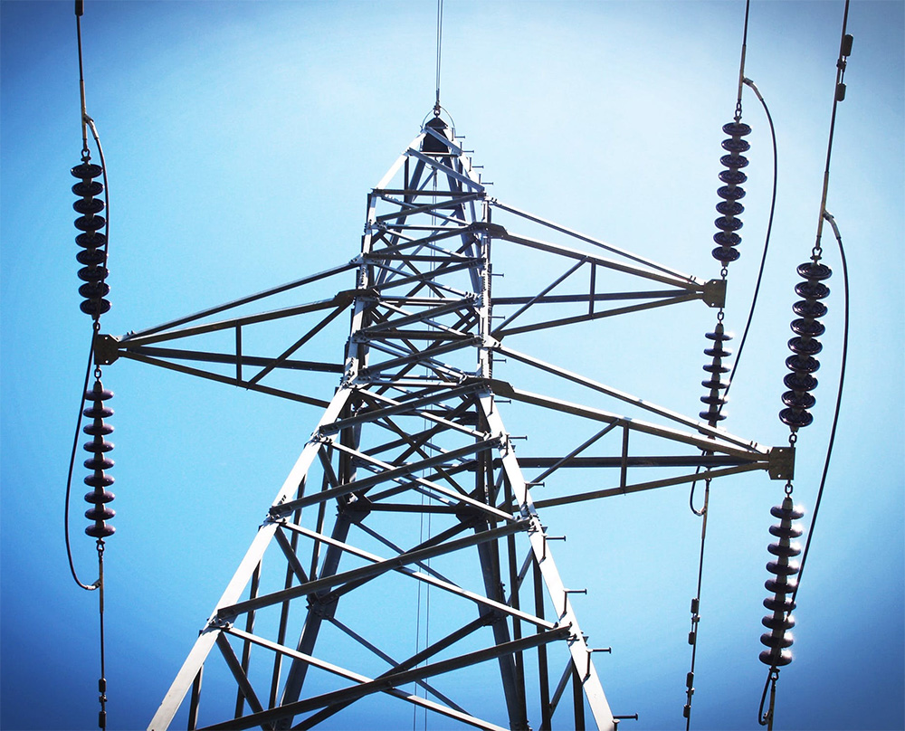 High Voltage Power Lines Utiltizing Conductors and Insulators for the Purpose of Transmitting Energy