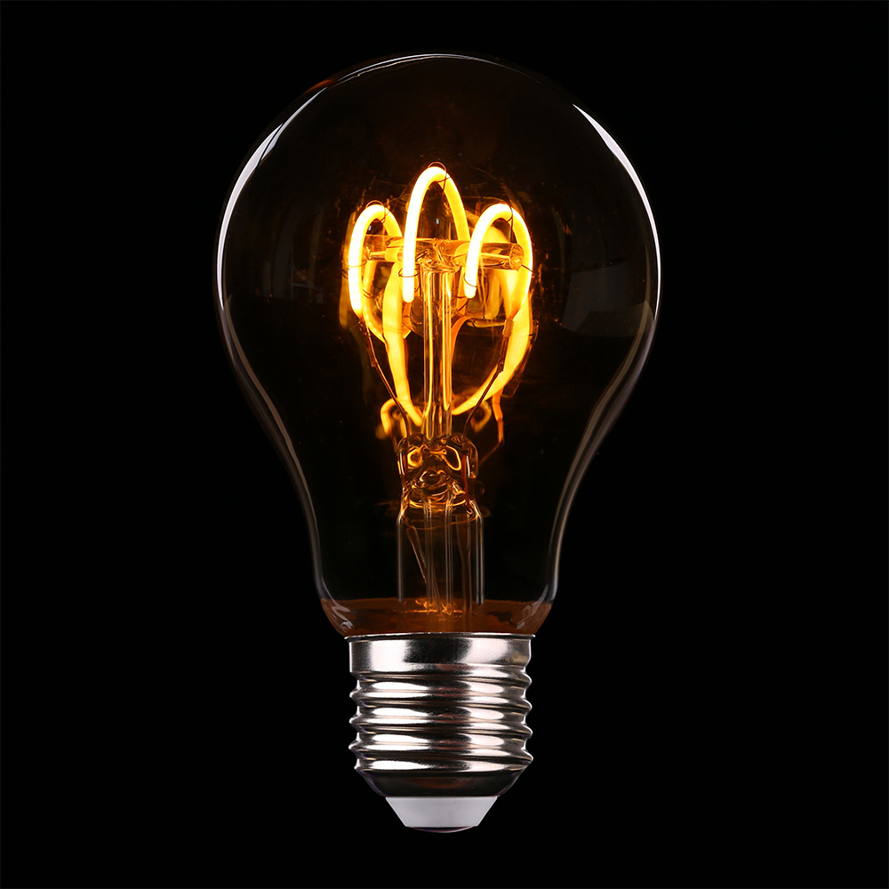 Light Bulb Powered by Electrical Energy